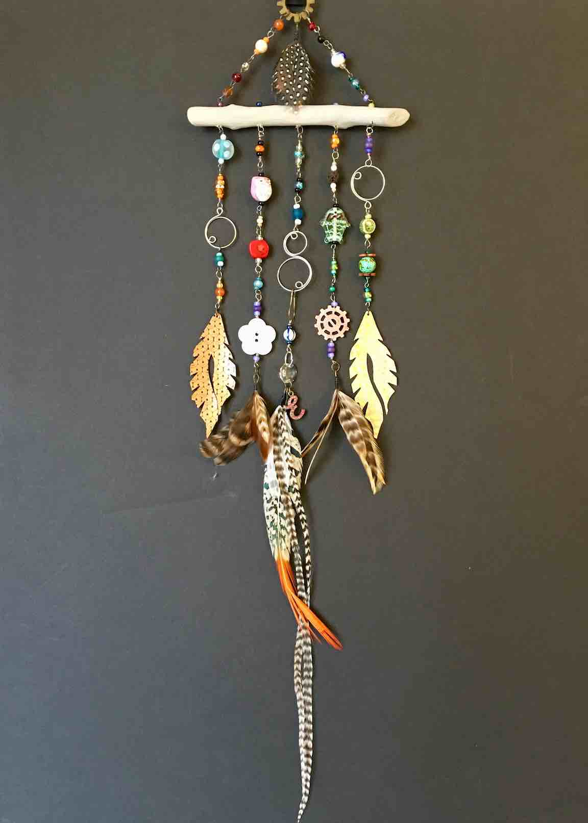 Feather Wind-Chime