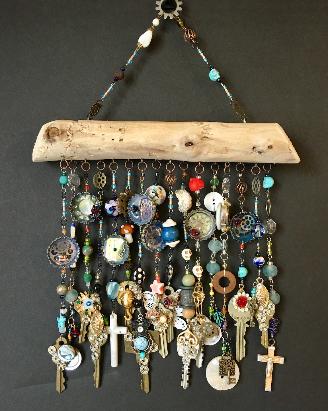 Key & Time Wind-Chime