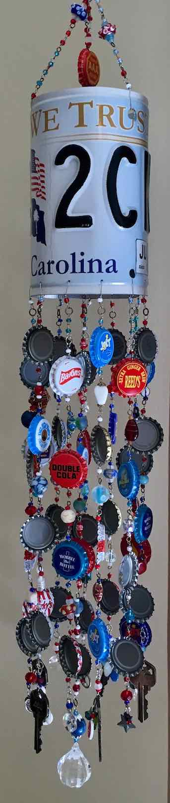 License NC Wind-Chime